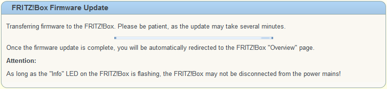 fritzbox 7360 firmware aktualisieren