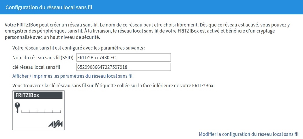 Comment installer et configurer mon modem FRITZ!Box 7430